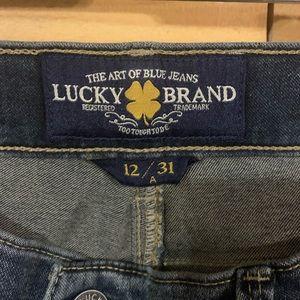 Lucky Brand Jeans - Lucky brand skinny jeans size 12 Brooke legging